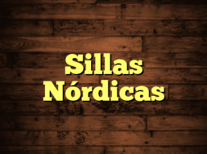 Sillas Nórdicas